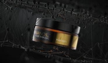 hair mask with keratin Nanoil